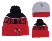 arizona hat - top Sale Football Red Arizona Beanies Winter High Quality Cardinals Beanie For Men Women Skull Caps Skullies Knit Cotton Hats