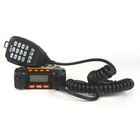 achat en gros de portable à portée de main-Radio mobile QYT 8900D KT8900 Mini émetteur radio portable 20/25 Watt Microphone pratique