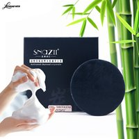 Wholesale Treatment of bamboo charcoal SOAP handcrafted skin care natural skin whitening remover acne treatment SOAP oil control M02657