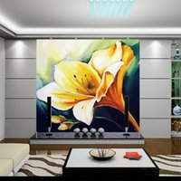 Wholesale Customize Any Size European painting style Bedroom TV Background Wall Paper Home Decor Living Room Non woven Mural Wallpaper