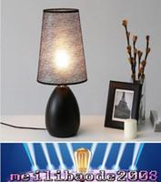 art deco chrome table lamp - 2017 NEW Hot Table Lamps Modern minimalist fashion bedroom bedside lamp decoration lamp Scandinavia desk lamps E27 MYY
