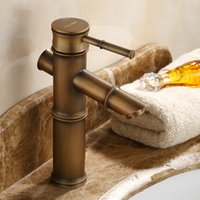 basin prices - high quality under competitive price Classical european noble faucet antique brass basin faucet with single handle