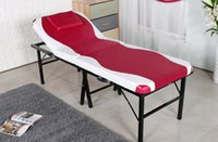 Wholesale One Piece Massage Table Folding Facial Bed Massage Table Chair Beauty Massage Bed For Salon Spa and Therapy