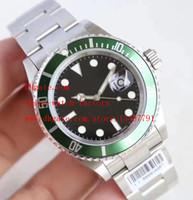Montre de luxe de haute qualité JF Factory Cadran noir 40mm 16610 116610 Vintage Bleu Luminescent Swiss ETA 3135 Movemen Automatic Mens Watches