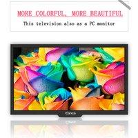 Wholesale Canca inches TV P Full HD HDMI USB AV RF VGA Multi Interface Monitor Eyecare Elegant Narrow Support TV Box