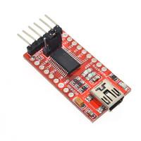 al por mayor adaptador usb ttl-FT232RL FTDI USB 3.3V 5.5V al módulo de adaptador serial de TTL para Arduin mini puerto. ¡Compre una buena calidad!