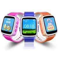 Reloj caliente Q60 del reloj de la venta caliente Reloj SOS del buscador de la localización de la llamada Localizador del dispositivo del localizador para los niños Niños seguro Anti perdido