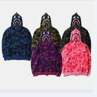 army camouflage sweatshirts - Men s Fleece Jacket Brand Designer Sweatshirts Hoodies Full Zipper Camouflage Army Military Sweater Men Camo Caucal Sport
