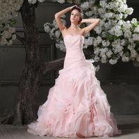 Wholesale Weddding Dress for Church Sweat Memory Modest Line Princess Romantic Sweetheart All Season Bridal Dresses