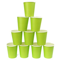 best vending - Best Promotion Disposable Paper Cup Party Candy Bottle Outdoor Camping Picnic Drinkware Vending CateringTumblers Drinking
