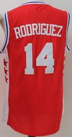 best basketball uniforms - Best Quality Sergio Rodriguez Shirt Uniform Fashion Breathable Sergio Rodriguez Jersey Men Pure Cotton Team Color Red Blue White Away