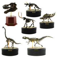TSCF0005# animal skeleton models - Starz Animal Skeleton Fossil ABS Assembly Dinosaur Toys Model Building Kits Collection Jurassi Park T rex Skull