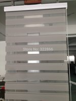 Wholesale popular zebra blinds double layer roller blinds for room window customized size