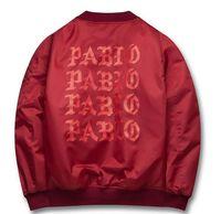 Wholesale Life Jackets Pockets - 2016 Autumn Winter Jacket I feel like Paul Pablo The Life Of Pablo MA1 Bomber Jacket Brand Thick Warm Bomber Coat Men