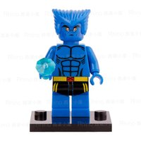 beast x men - Beast X MEN Hank Wolverine Super Heroes THE Avengers Minifigures Assemble Building Blocks Kids Learning Toys Gifts
