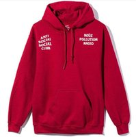 Wholesale The men s spring tide brand new simple drawstring Hoodie English stamp red Hoodie