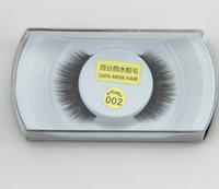 Wholesale Professional False Eyelashes Real Mink Natural Thick False Fake Eyelashes Eye Lashes Makeup Extension Beauty Cosmetic Tools Styles