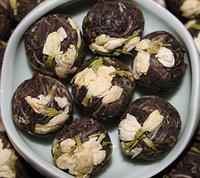 anti aging foods - Yunnan Puer Jasmine Dragon Old tree Puerh Raw tea Herbal flower tea Loose tea Anti aging lose weight Organic food freeshipping