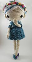 0-12 Months amigurumi dolls - Azul Amigurumi Doll Crochet
