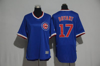 Wholesale 2017 top quality Women s Chicago Cubs Rizzo Bryant Schwarber Russell flex base stitched baseball jerseys for lady
