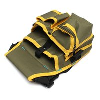 Wholesale Newest Hardware Mechanics Canvas Tool Bag Utility Pouch Utility Bag With Belt High Quality