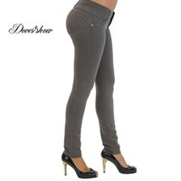 Pencil Pants best ladies jeans - Lady Super Elastic Casual Pants Best Sale Women s Sexy Candy Solid Pencil Pants Slim Skinny Stretch Jeans Trousers Buttock
