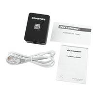 al por mayor repetidor wifi rj45-Roteador COMFAST AP + repetidor + enrutador tres-en-uno CF-WR150N 150Mbps 802.11N portátil WIFI repetidor / wifi router wifi adaptador rj45