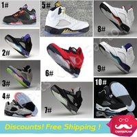 art bulls - Retro s V ranging bull Oreo men basketball shoe Sneaker red black white metallic Purple Grape sizes Sport shoe