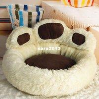 achat en gros de animal ours brun-Design unique Patte d'ours Petits chiens Produits mignons pour animaux de compagnie Livraison gratuite Marron Rose