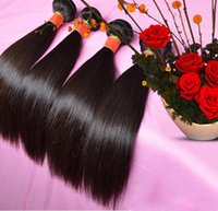 natural straight packaging machines manufacturers - 7A The Brazilian remy hair weaving hair the best package b g PC real manufacturers selling natural color