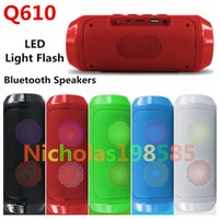 2.1 Universal HiFi Q610 PK J-B-L CHarge 2+ II Wireless Bluetooth Mini Speaker Subwoofer Portable Sports Hi-Fi Pluse Light Flash TF USB Card FM Music Speakers