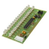 Wholesale 2016 MCU Adjustable Display Pattern LED VU Meter Level Indicator LED Dual Channel DIY Components