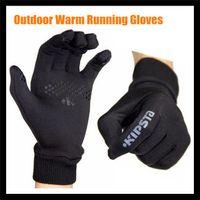 Wholesale Winter Outdoor Lightweight Running Gloves For Men Women Jogging Soccer Football Cycling Fleece Thermal running Gloves Windproof