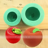 Modelling Tools apple bakery - 1pcs Christmas Decor Xmas Apple D Silicone Mold patisserie gateau Fondant Cake Decorating Tool Cupcake Chocolate Mould Pastry Shop Bakery