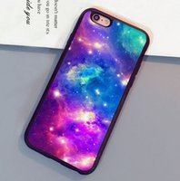 achat en gros de pourpre cas de l'iphone 4s-Blue Purple Blue Pink Space Fantasy Soft TPU Skin Étui pour téléphone portable pour iPhone 6 6S Plus 7 7 Plus 5 5S 5C SE 4S Coque arrière