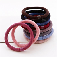 as pictures show basic fashion jewelry - High bold elastic High grade basic straight bead hair bands South Korean classic color Fashion charms bracelet jewelry factory direct sale