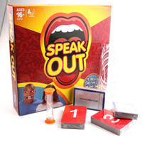 Wholesale Speak Out Game KTV Party Game Cards for party Christmas gift Best selling board game