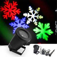 ¡Acción de los EEUU! Proyector de luces de LED mariposa / lámpara de noche de nieve Efectos luces de proyecto fiesta de Navidad estándar de EE.UU.