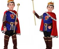 baby king costume - 4 Years Boys Children Duxury Honorable Arab Prince Halloween Party Cosplay Costumes Baby Kids King Children Fantasia Infantil