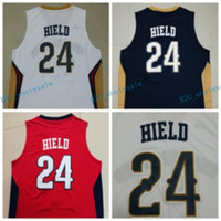 best buddies - New Buddy Hield Jersey Best Quality Navy Blue White Red Team Color Buddy Hield Shirt Sportswear Uniform Throwback Clothes Clothing