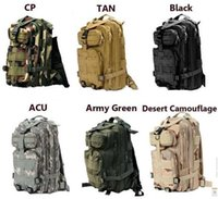 Wholesale 2016new Tactical Attack Bag Outdoor Sport Military Backpack Camping Hiking Trekking Bag
