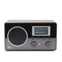 alarm clock internet radio - Ocean Digital Wooden FM Internet Radio WiFi Music LCD UPnP Clock Alarm Player