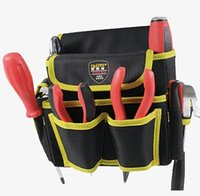 choose on web aluminum maintenance - FG415 S Kit multifunction pockets toolkit tool bag large capacity maintenance electrician waist hung high altitude Bag