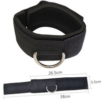 Men ankle strap cable - Fitness Exercise Training Equipment D ring Ankle Anchor Strap Belt Multi Gym Cable Attachment Thigh Leg Pulley Strap Lifting