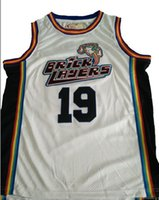 Wholesale BrickLayers Rock N Jock Basketball Jam Jersey White Any Size Now