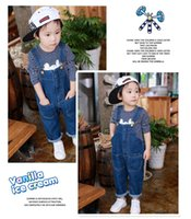 Wholesale The Children s Place Little Boys and Boys Novelty Overall children s casual fashion denim overalls