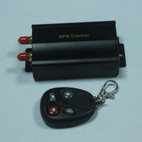 Wholesale TK103 GSM GPRS Vehicle Car GPS tracker Car Alarm GPS Quadband MHZ Car Alarms Security