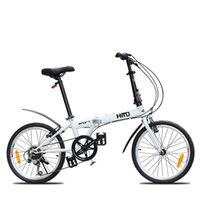 Wholesale Folding Bike Speed Inch Quickly Dismantling Type Of High Carbon Steel Double V Brakes Cycling Bike A3