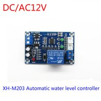 automatic pump controller - DC AC12V STM8 Full Automatic Water Level Controller Switch Liquid Level Water Pump Board