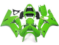 Wholesale New TOP Injection ABS fairing kits For kawasaki ninja ZX R ZX R ZX6R bodywork set ZX636 ZX love green color